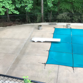 Pool After Cleaning